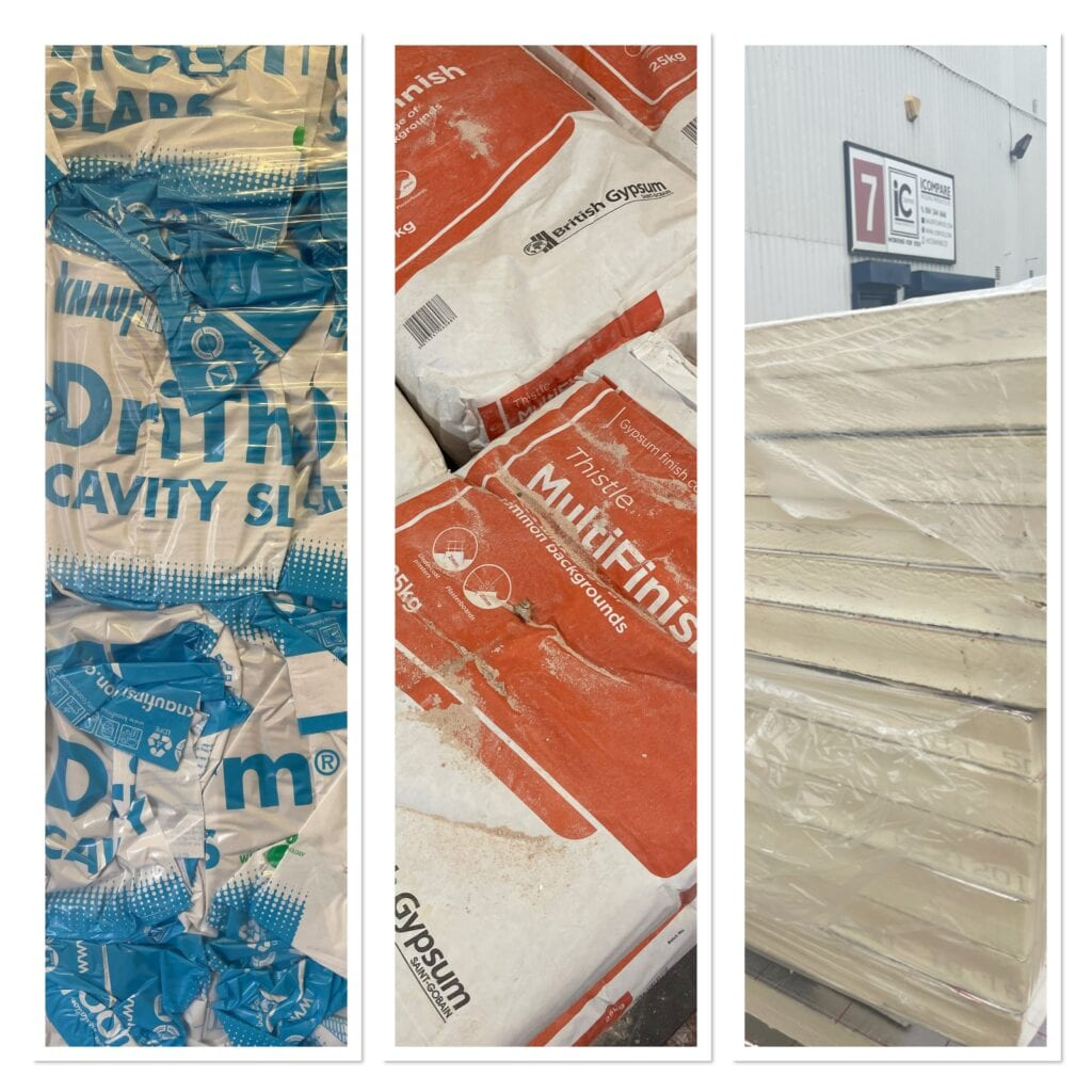 A Collage of insulation